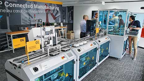 Food Processing - Festo demonstrates how Industry 4 0