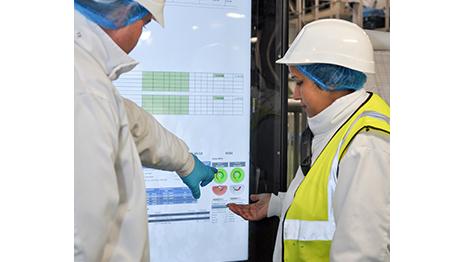 Food Processing - Dashboard data feeds growth