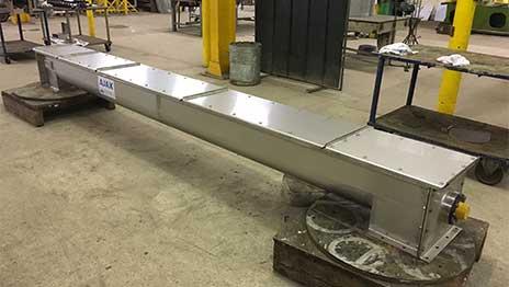 Food Processing - Screw conveyor for food ingredients supplier
