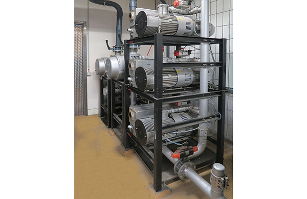 Centralised vacuum supply helps reduce emissions and operating costs